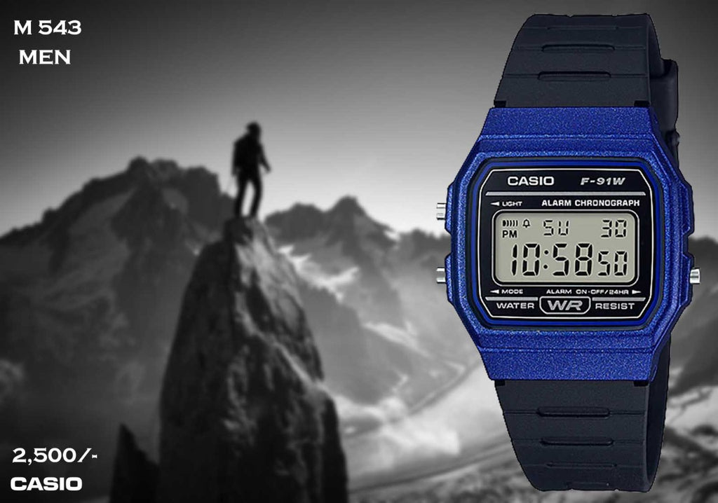 Casio F91 Series M 543