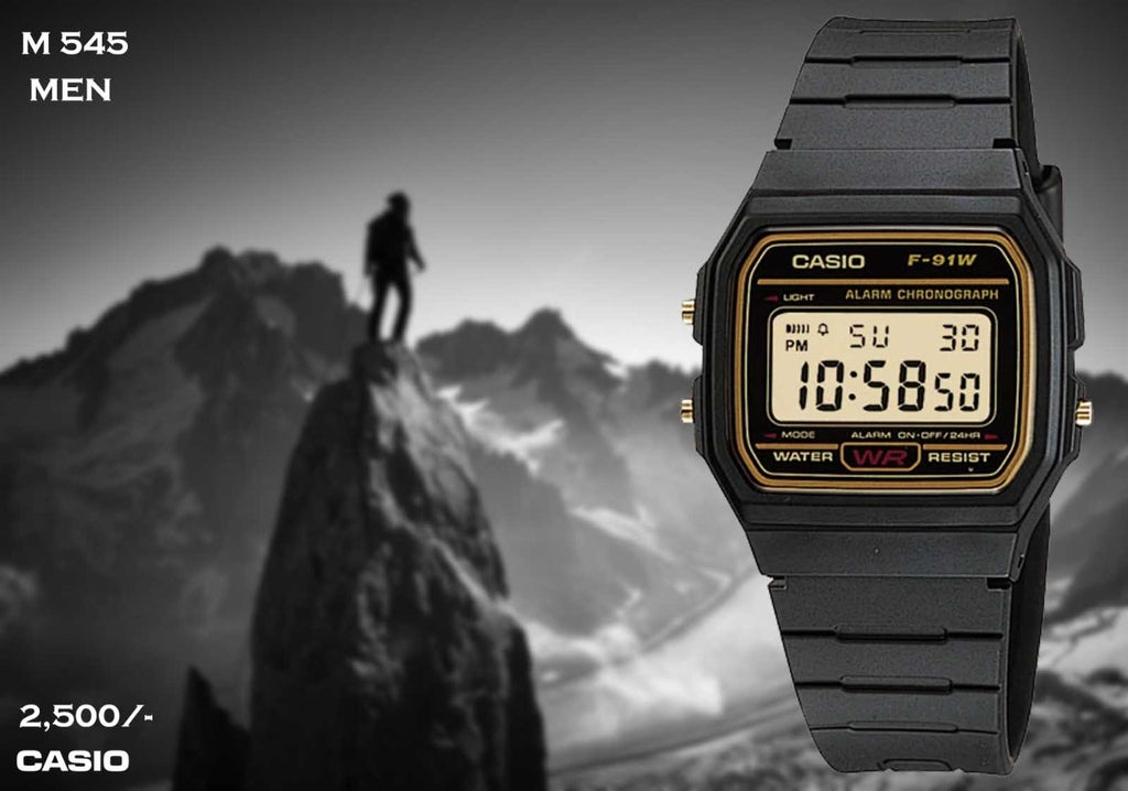 Casio F91 Series M 545