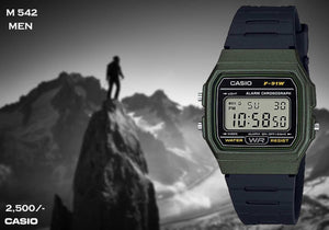 Casio F91 Series M 542