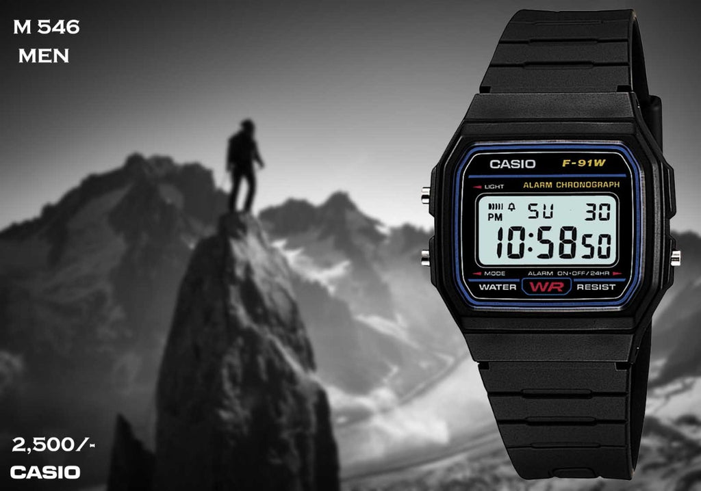 Casio F91 Series M 546