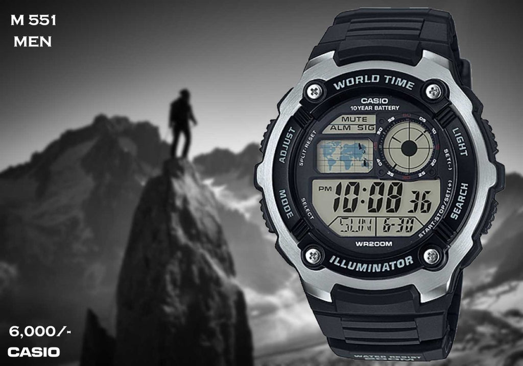 Casio Digital Timepiece M 551
