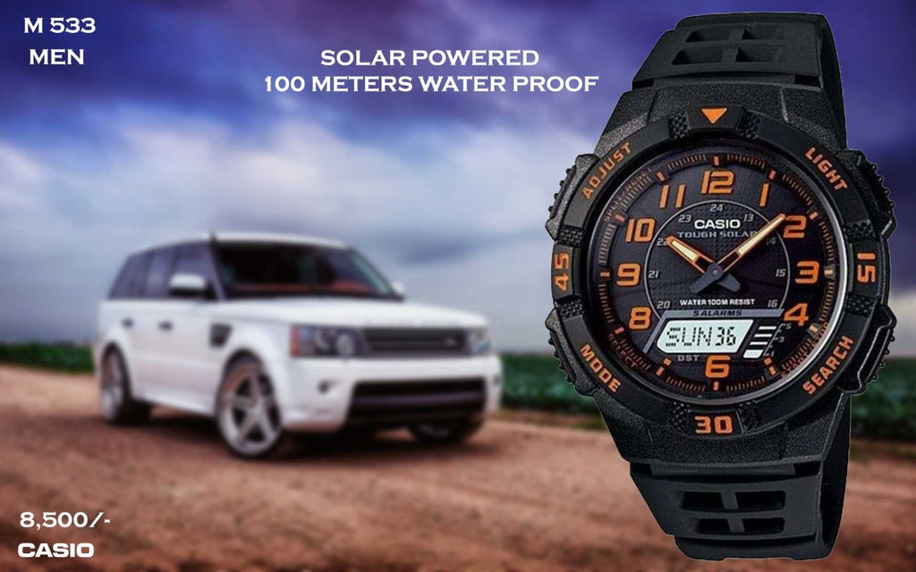 Casio Solar Powered Timepiece M 533