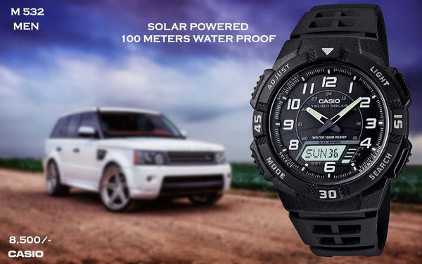 Casio Solar Powered Timepiece M 532