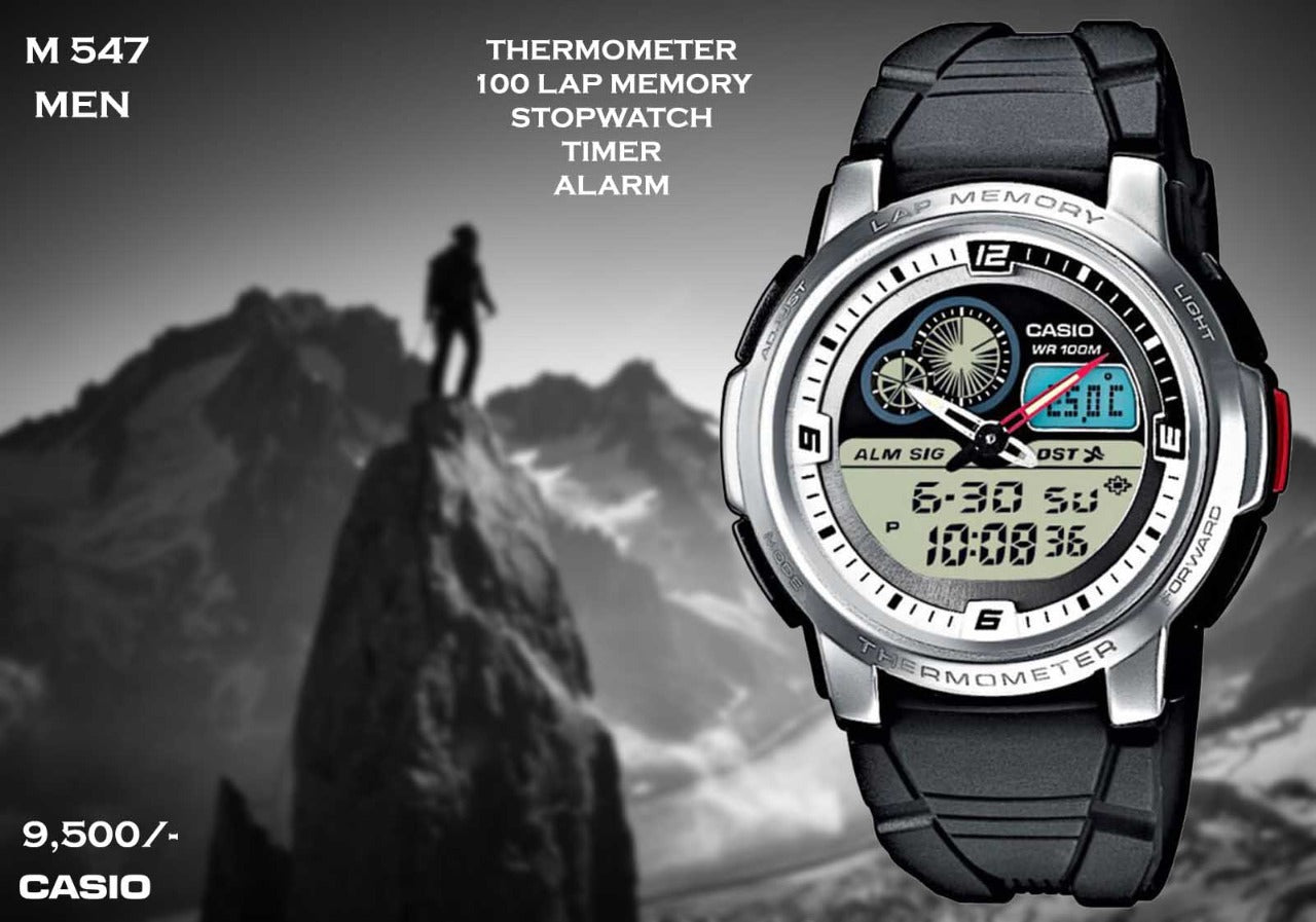 Casio Out Gear with Thermometer M 547