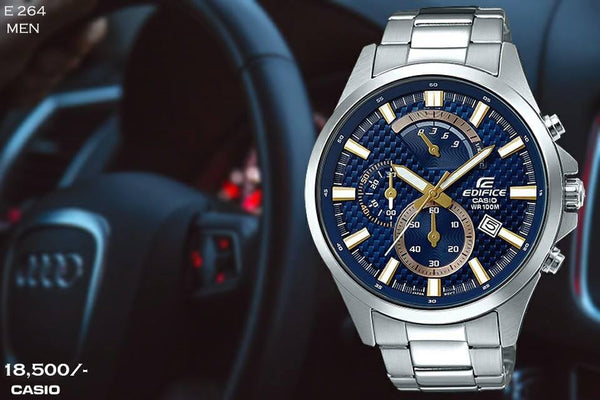 Casio Edifice Stainless Steel for Men E 264