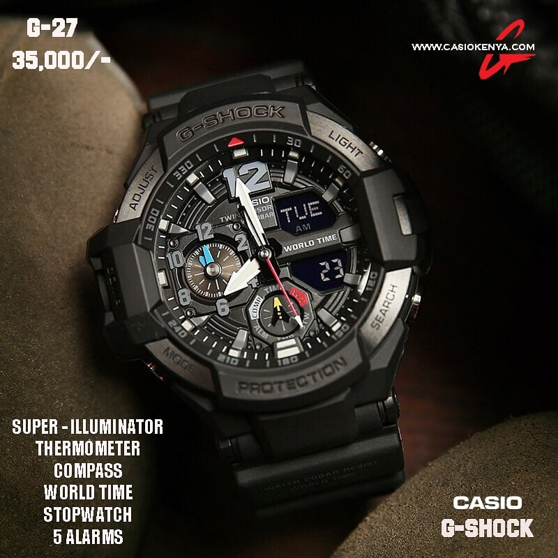 Casio G-SHOCK for Men G 27 Gravity Master