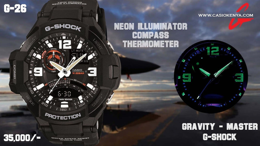 Casio G-SHOCK for Men G 26 Gravity Master