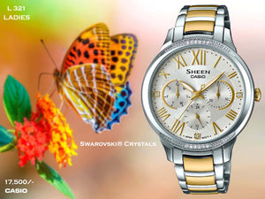 Casio  Exclusive Ladies Sheen Series L 321
