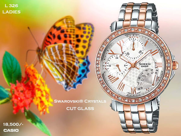 Casio  Exclusive Ladies Sheen Series L 326