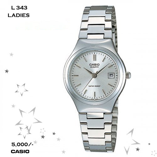 Casio Ladies Timepiece L 343