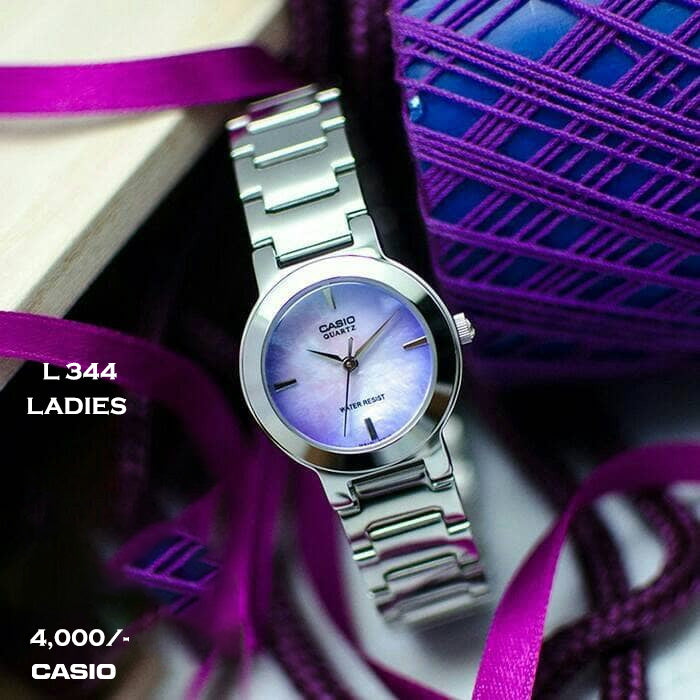 Casio Ladies Timepiece L 344