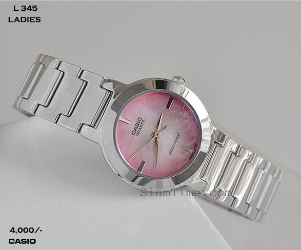 Casio Ladies Timepiece L 345