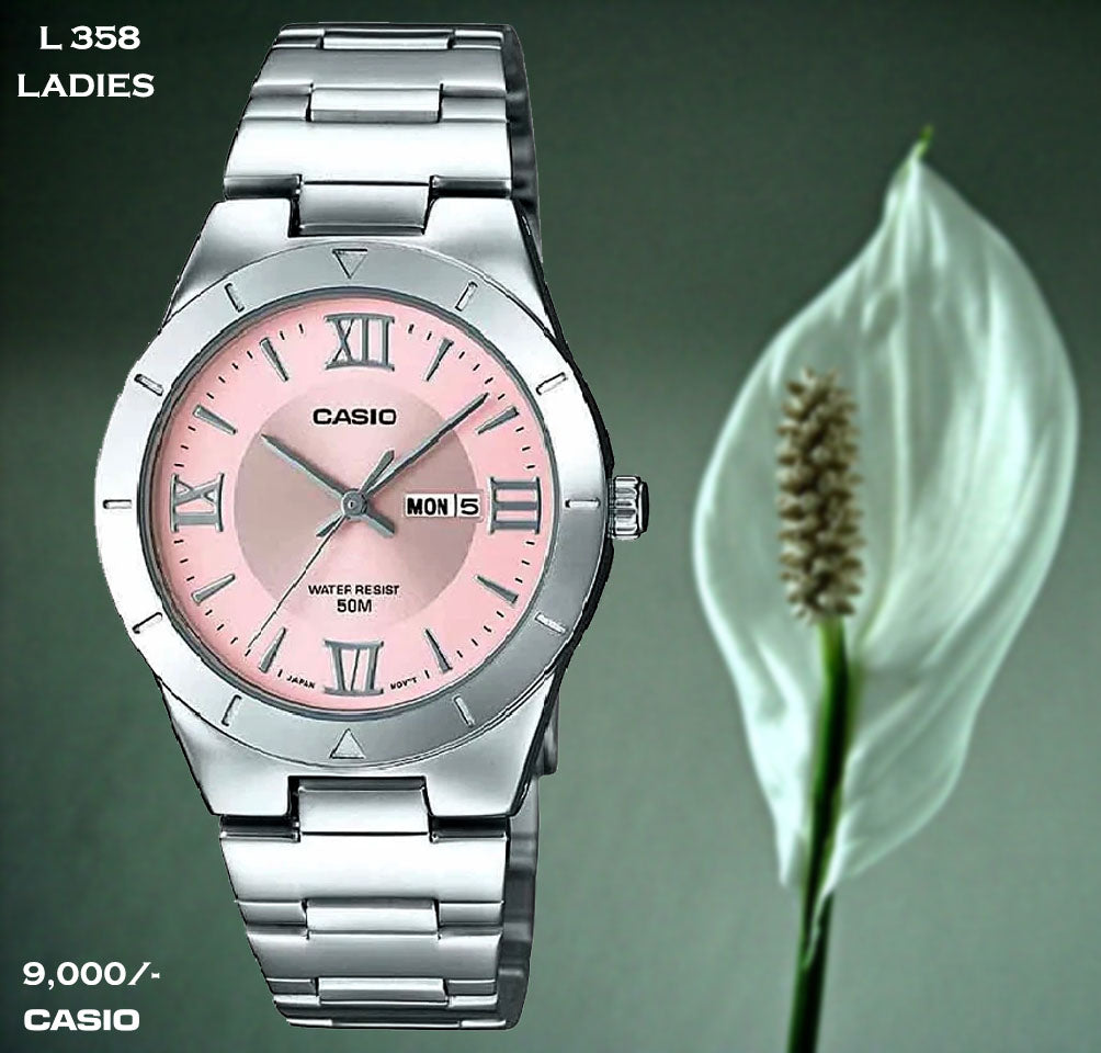 Casio Ladies Timepiece L 358