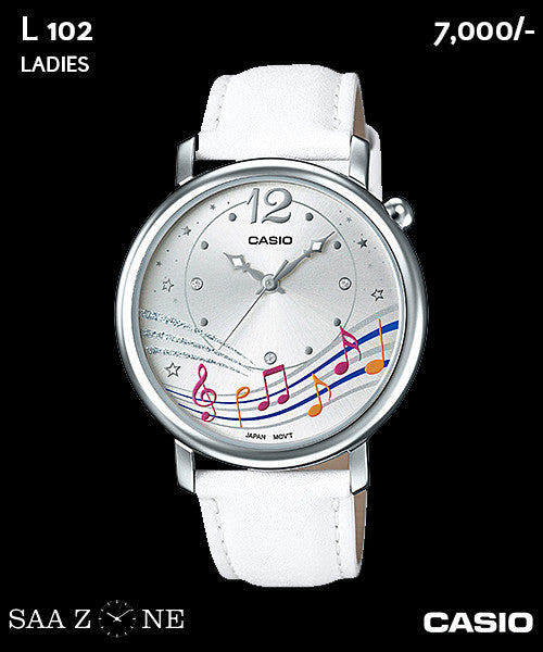 Casio Ladies Exclusive L 102
