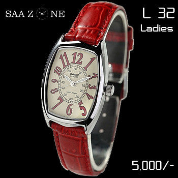 Casio Ladies Leather Belt L 32