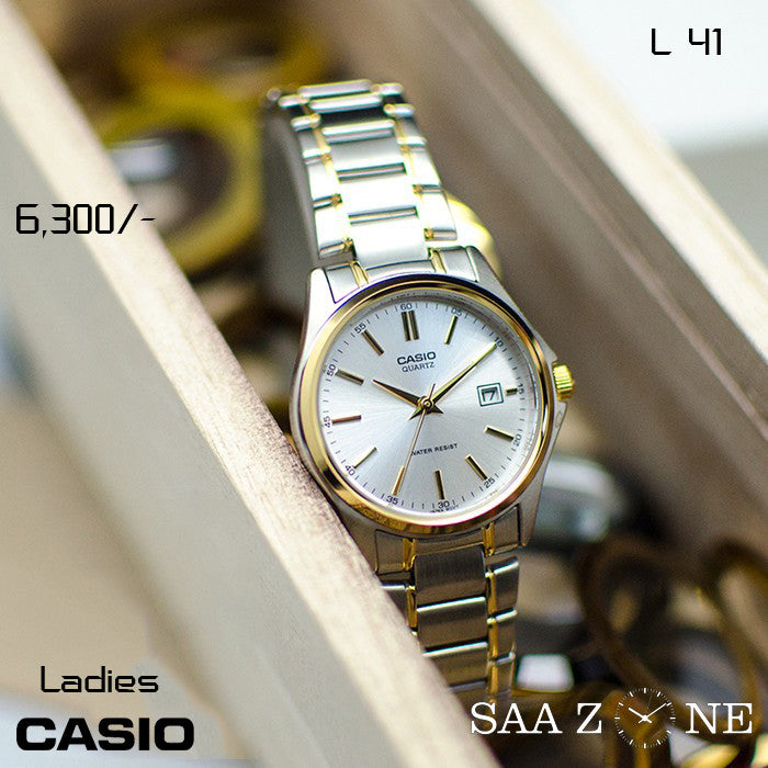 Casio Ladies Steel Belt L 41