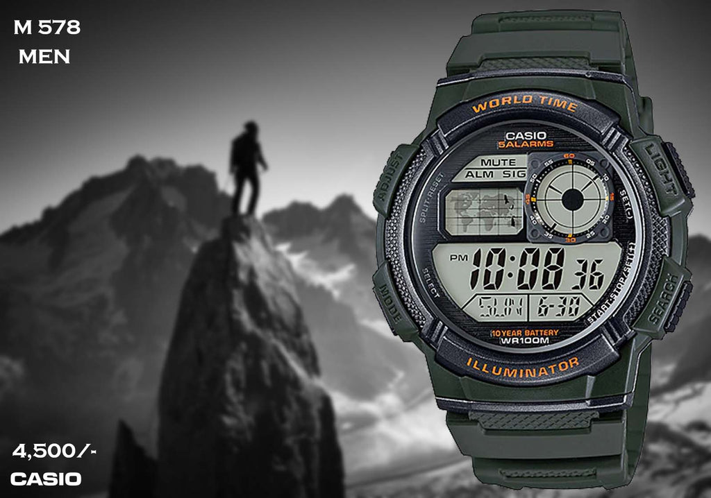 Casio Digital Timepiece M 578