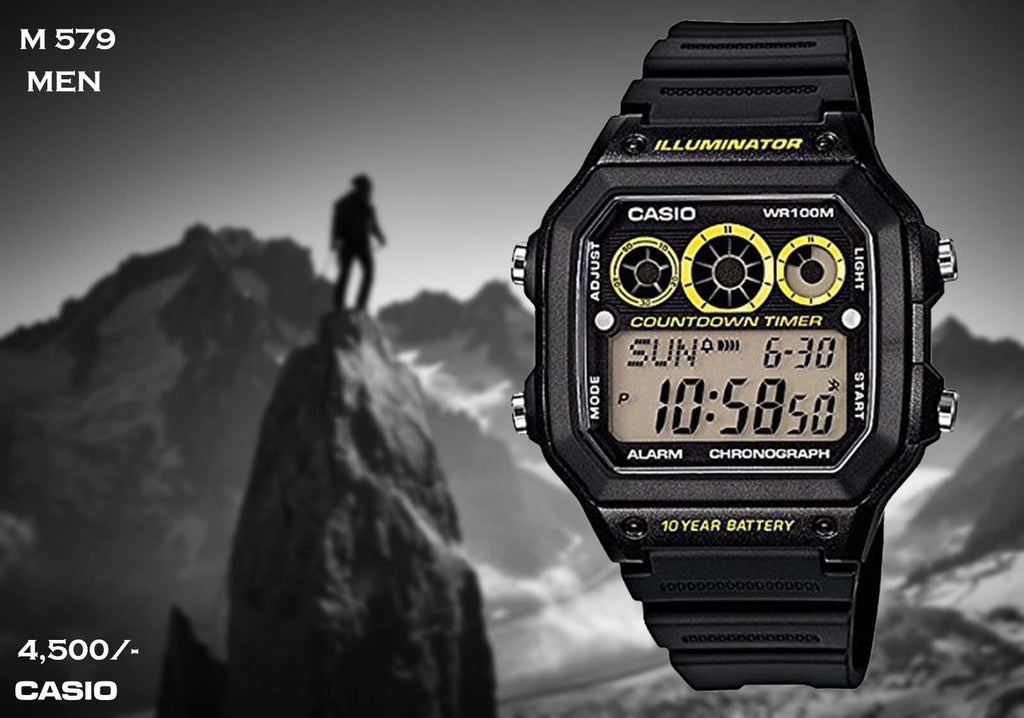 Casio Digital Timepiece M 579