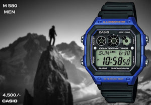 Casio Digital Timepiece M 580