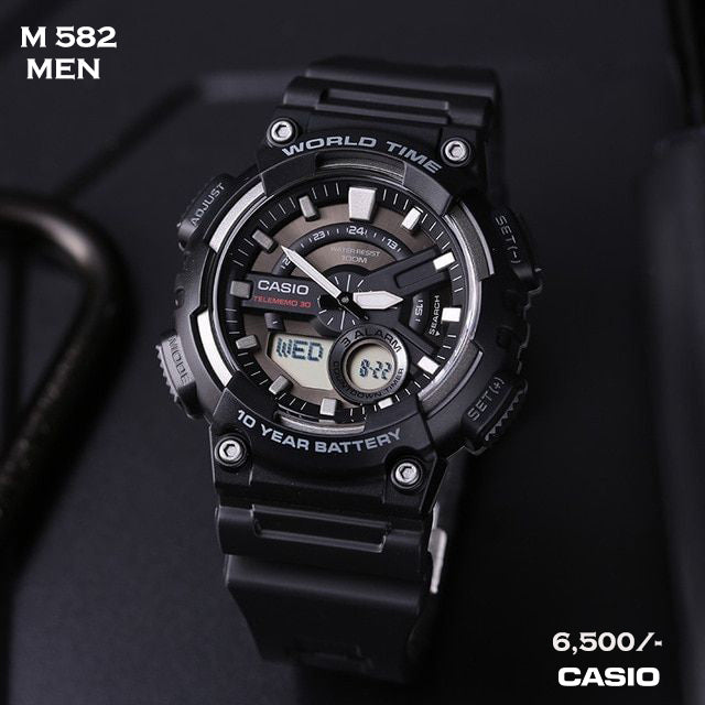 Casio Analogue/Digital Timepiece M 582