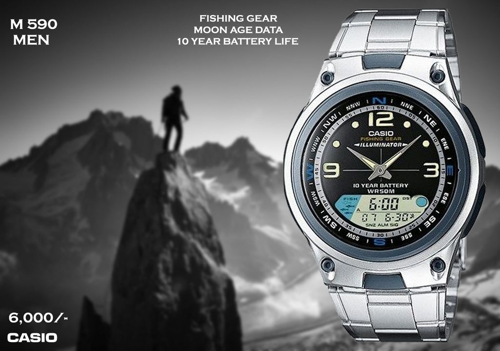 Casio Sport Fishing Gear M 590