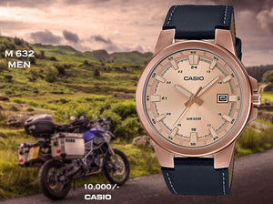 Casio Exclusive Leather for Men M 632