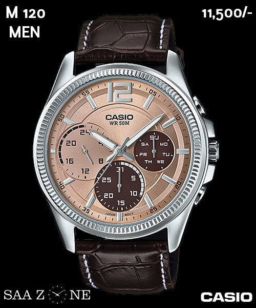 Casio Exclusive Leather for Men M 120