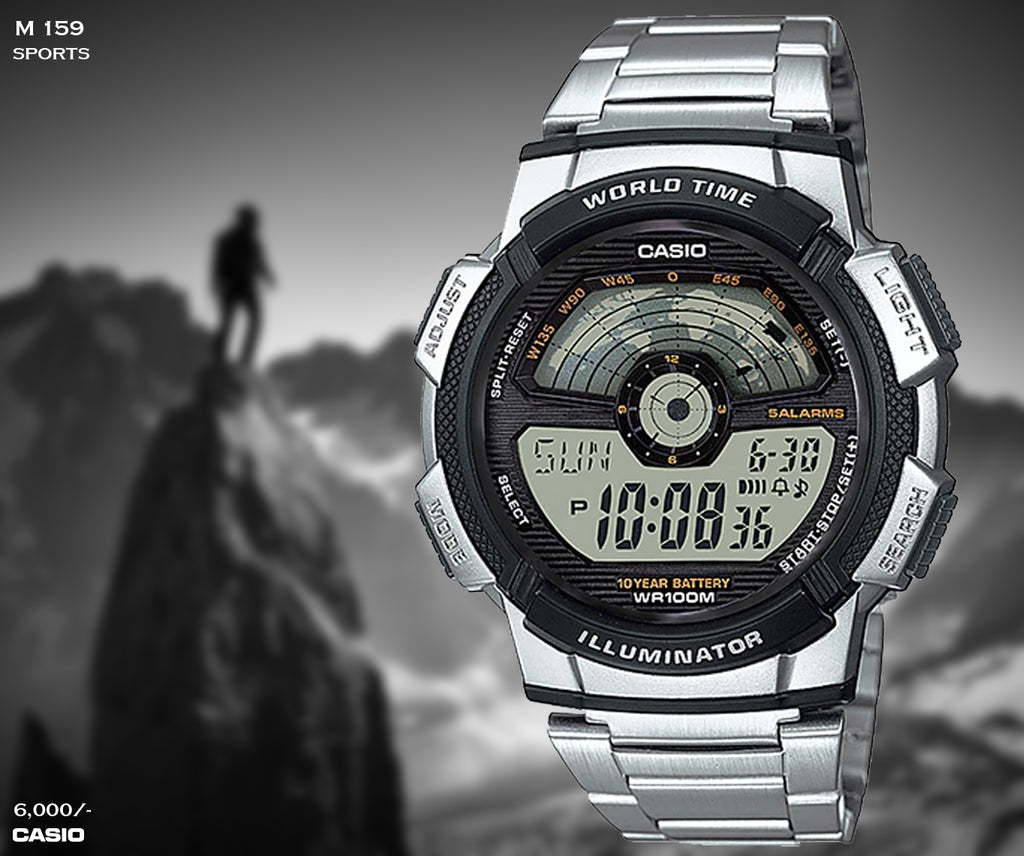Casio Digital Timepiece M 159