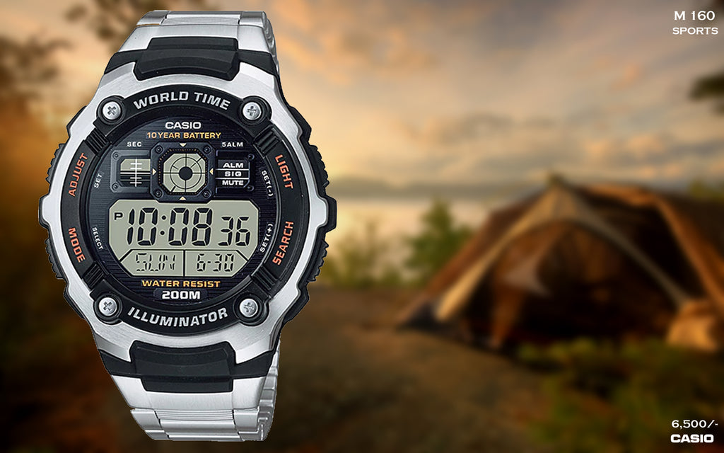Casio Digital Timepiece M 160
