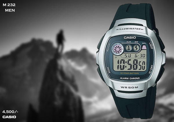 Casio Digital Timepiece M 232
