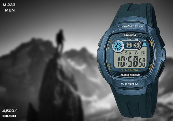Casio Digital Timepiece M 233