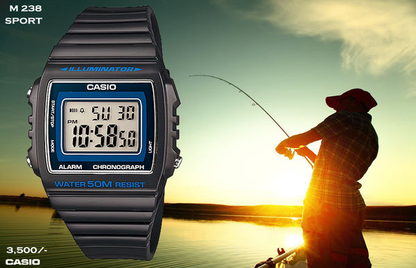 Casio Digital Timepiece M 238