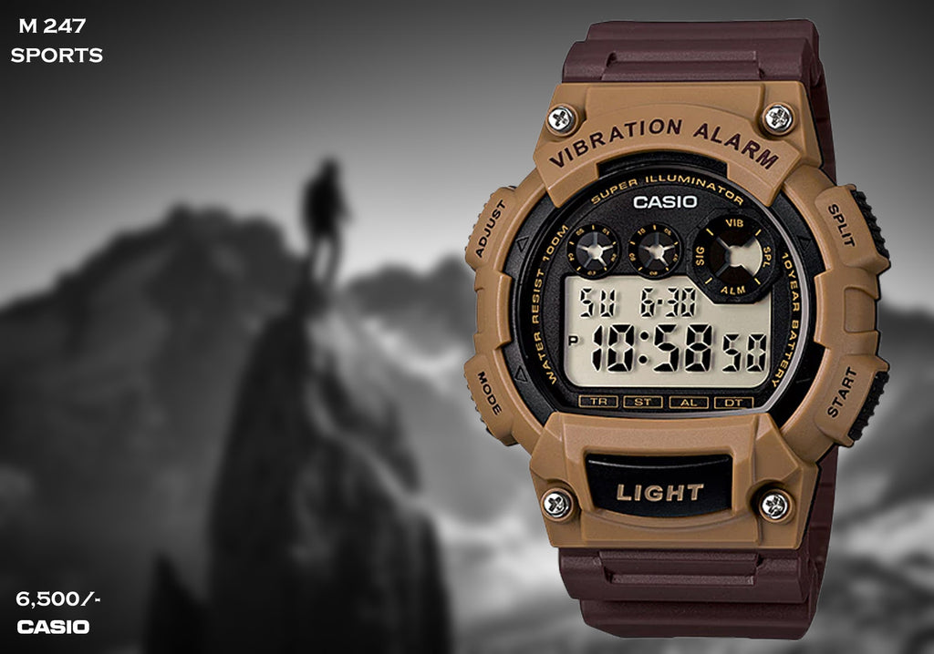 Casio Sport Digital Timepiece M 247