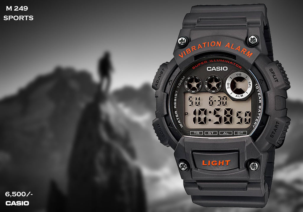 Casio Sport Digital Timepiece M 249