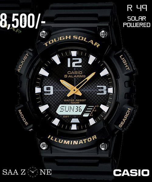 Casio Solar Powered Timepiece R 49