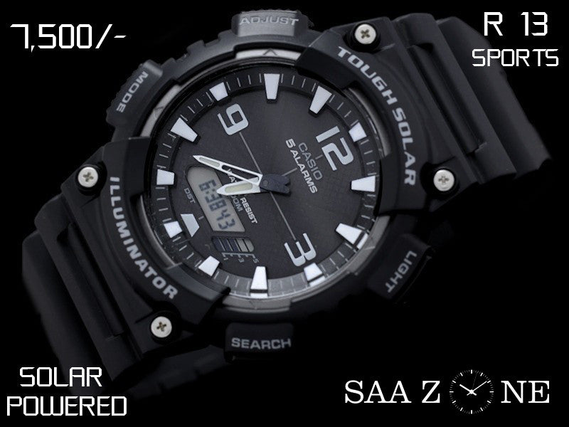 Casio Solar Powered Timepiece R 13