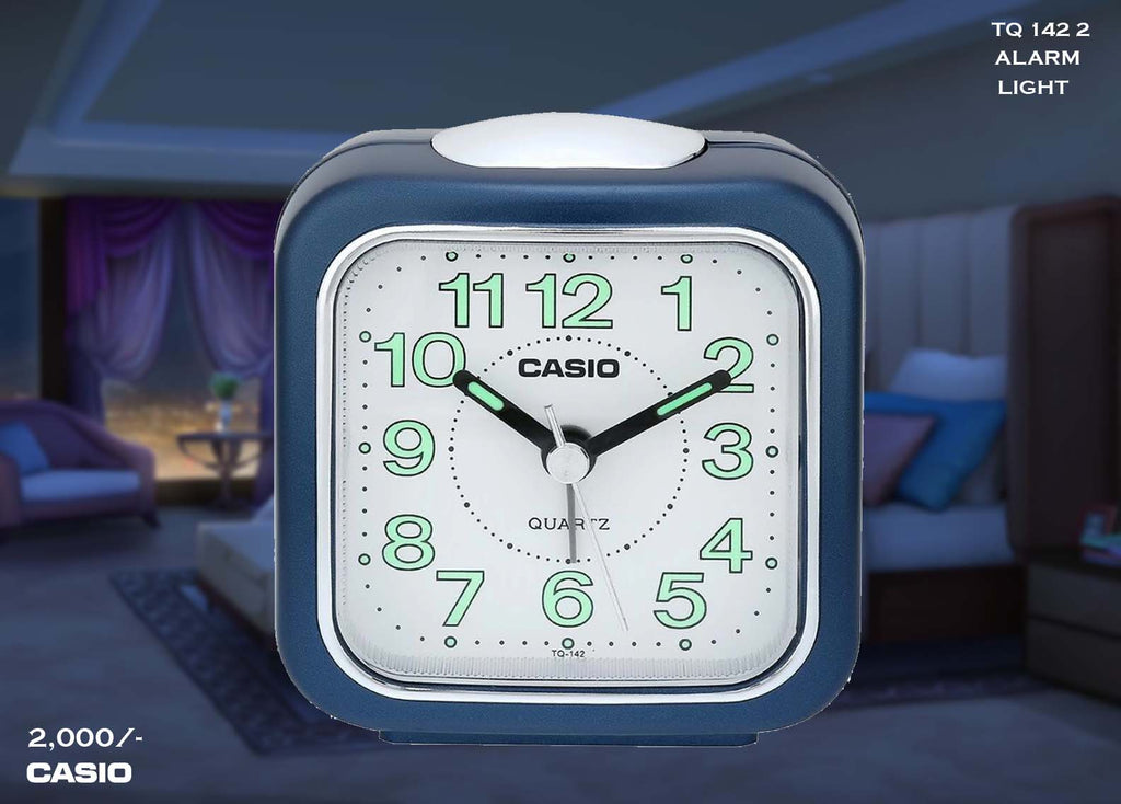 W Casio Alarm Clock TQ 142 2