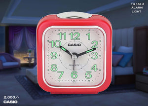 W Casio Alarm Clock TQ 142 4
