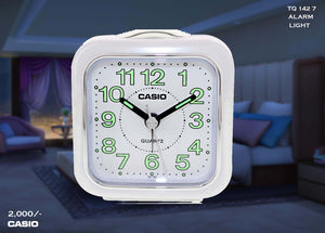 W Casio Alarm Clock TQ 142 7