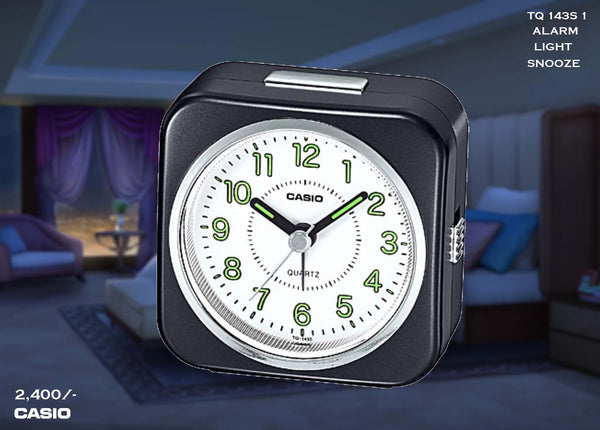 Casio Alarm Clock TQ 143S 1