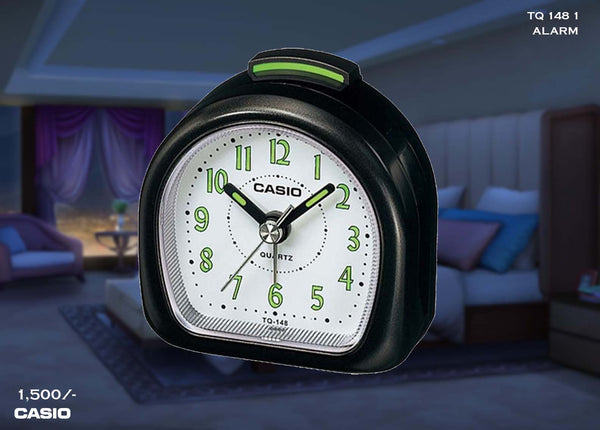 Casio Alarm Clock TQ 148 1
