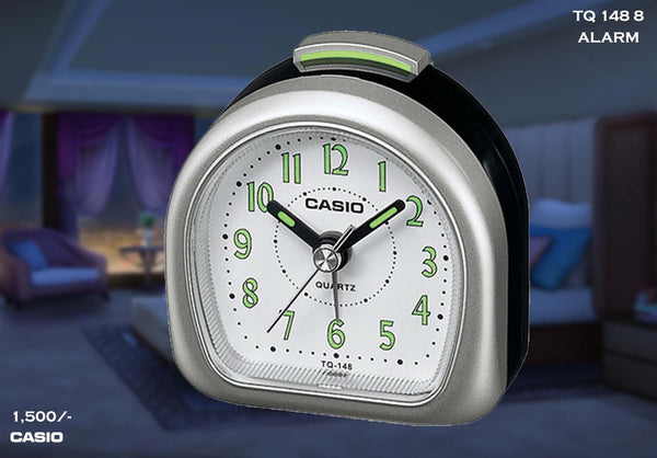 Casio Alarm Clock TQ 148 8