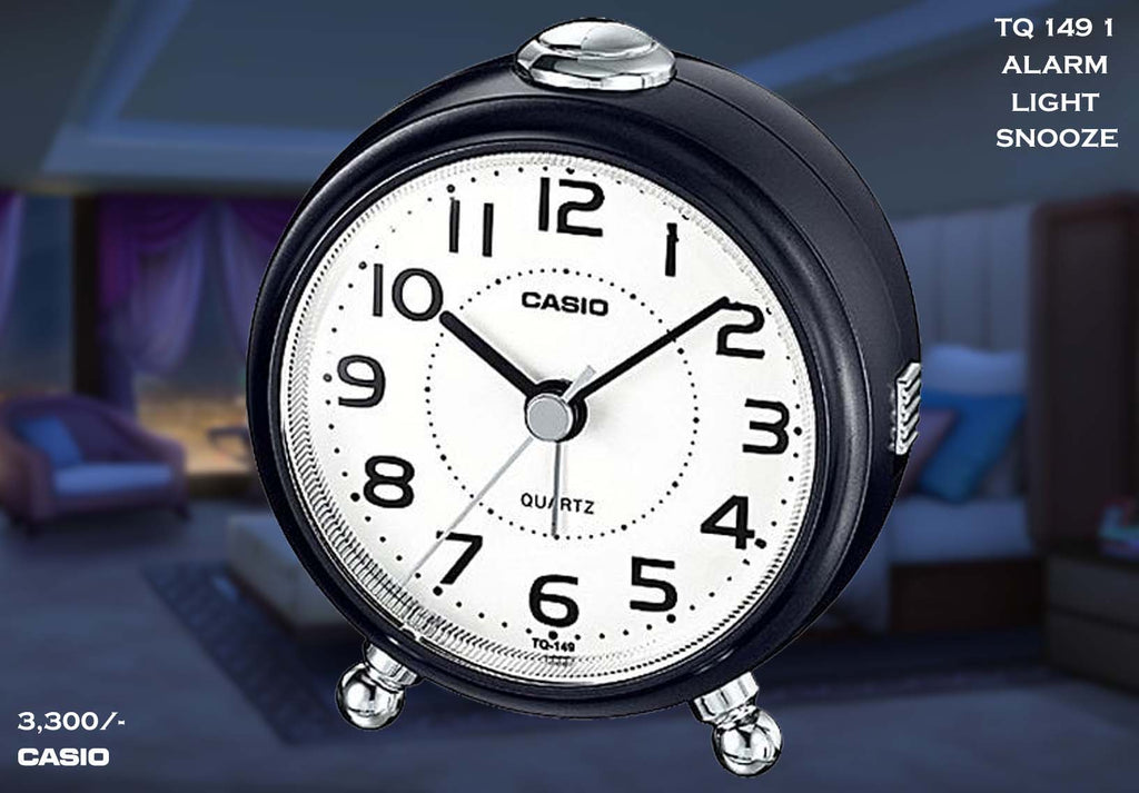 W Casio Alarm Clock TQ 149 1