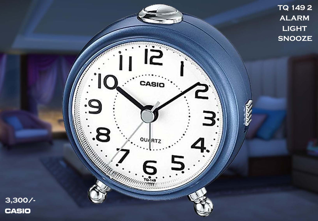 W Casio Alarm Clock TQ 149 2