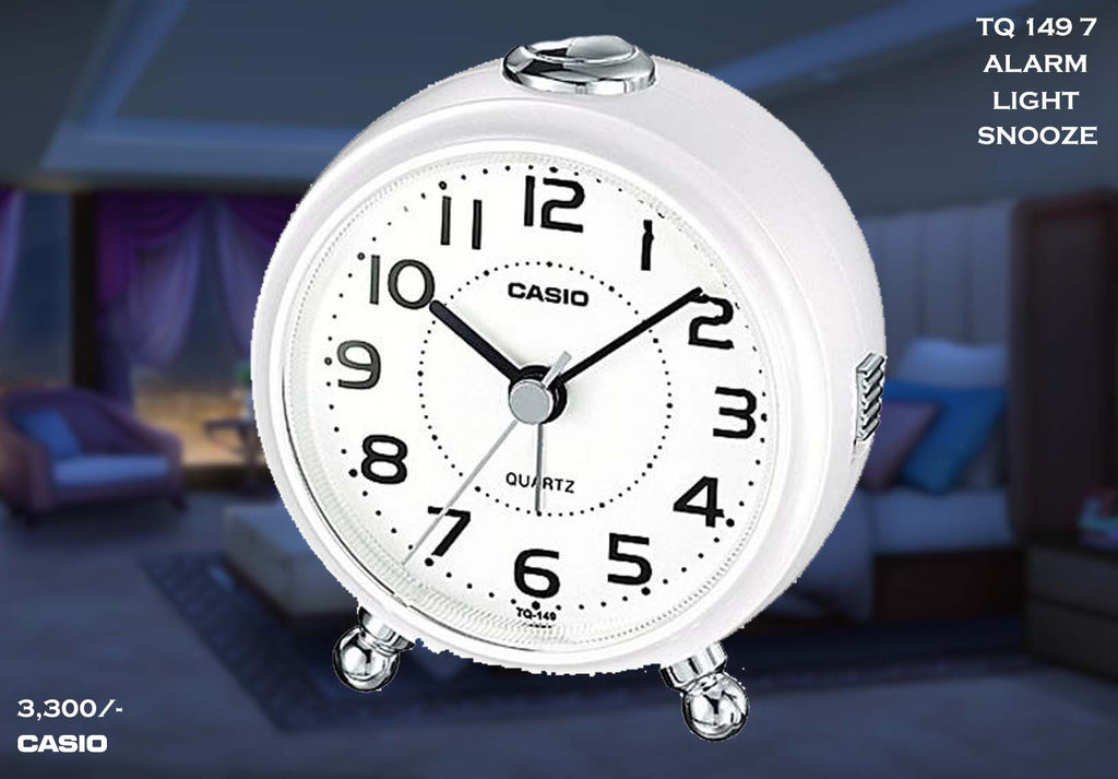 W Casio Alarm Clock TQ 149 7