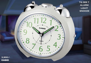 W Casio Alarm Clock TQ 369 7