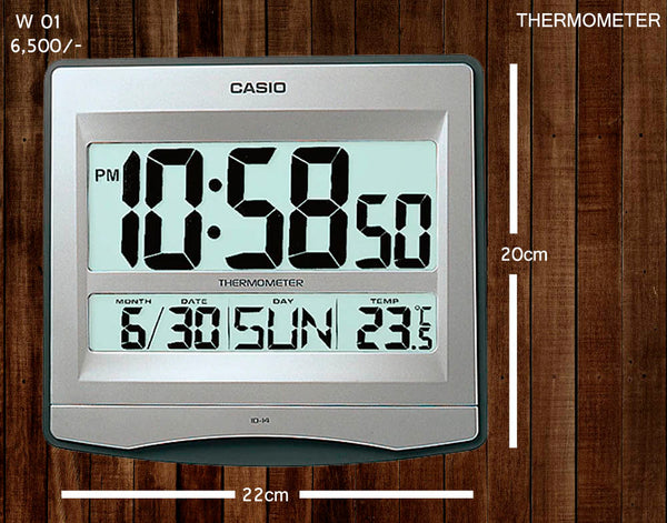 Casio Wallclock W 01