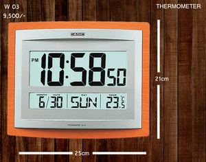 Casio Wallclock W 03