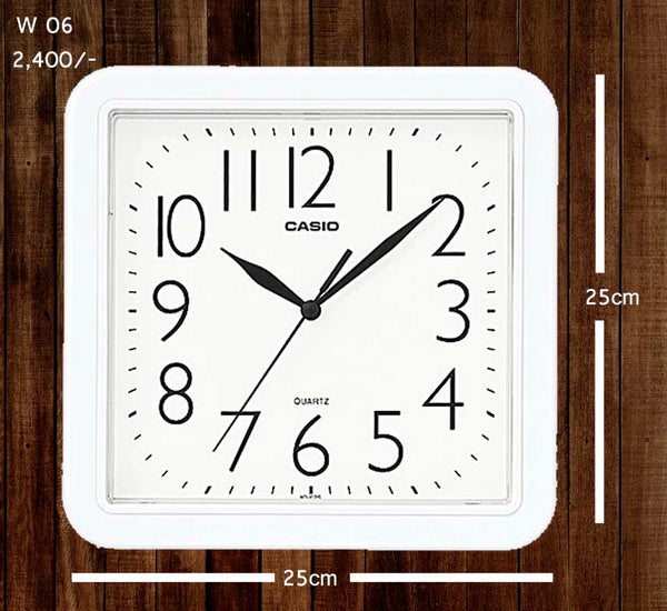 Casio Wallclock W 06
