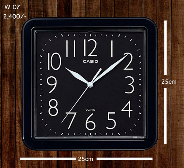 Casio Wallclock W 07